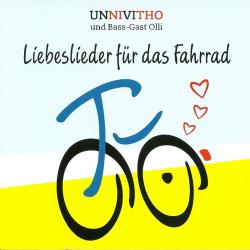 Label der CD Liebeslieder für das Fahrrad von  UNNIVITHO